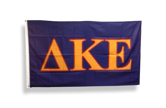 Delta Kappa Epsilon Big Flag