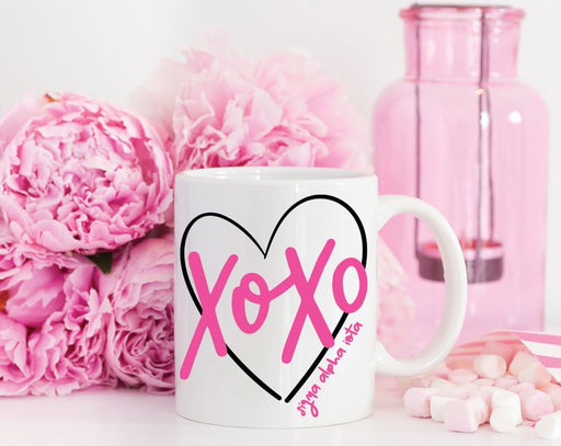 Sigma Alpha Iota Sorority XOXO Love Coffee Mug