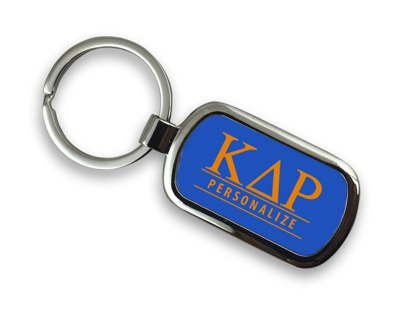 Kappa Delta Rho Chrome Key Chain