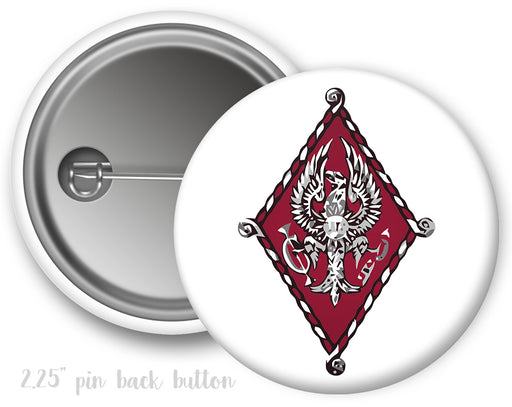 Pi Beta Phi Color Crest Button