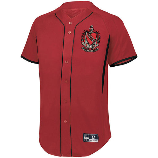 Tau Kappa Epsilon 7 Full Button Baseball Jersey