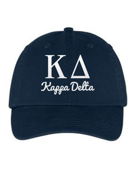 Kappa Delta Collegiate Curves Hat