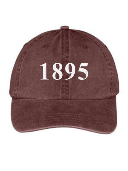 Chi Omega Year Established Embroidered Hat