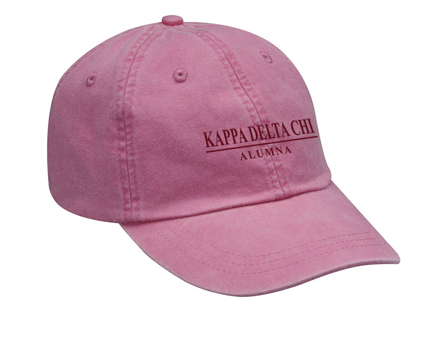 Kappa Delta Chi Line Year Embroidered Hat