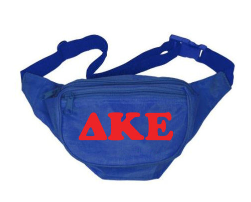 Delta Kappa Epsilon Fanny Pack Letters Layered Fanny Pack