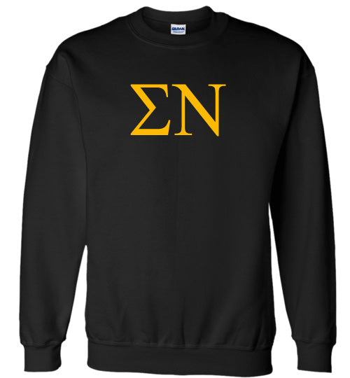 Sigma Nu World Famous Lettered Crewneck Sweatshirt