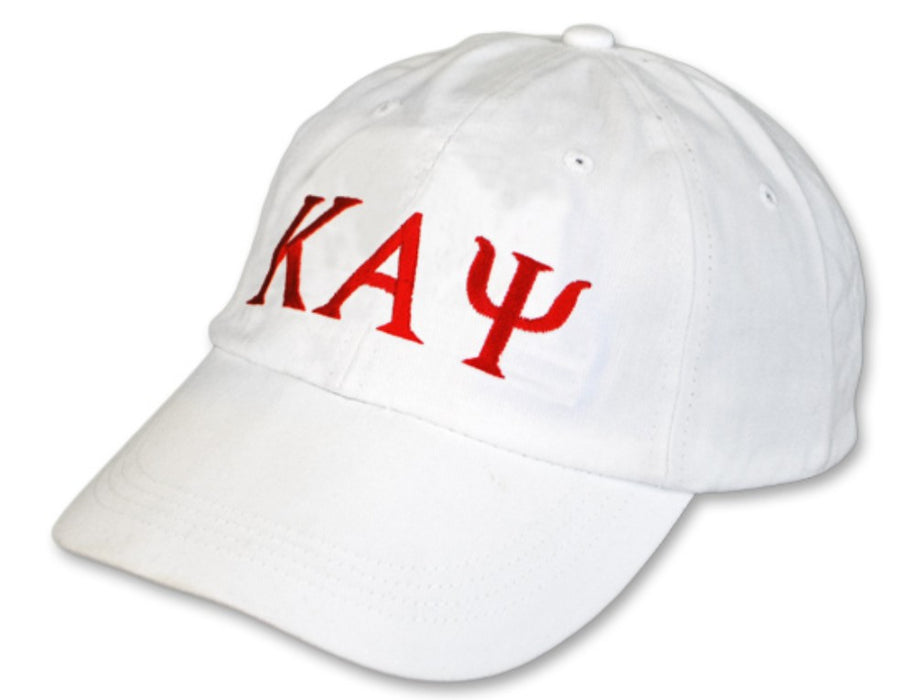 Kappa Alpha Psi Greek Letter Embroidered Hat