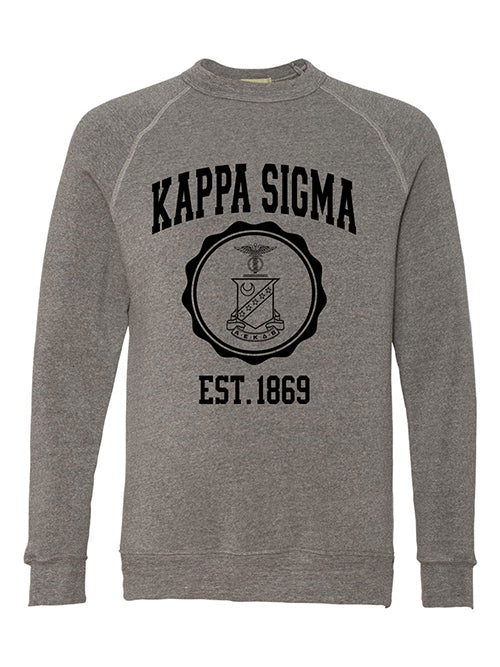 Kappa Sigma Alternative Eco Fleece Champ Crewneck Sweatshirt