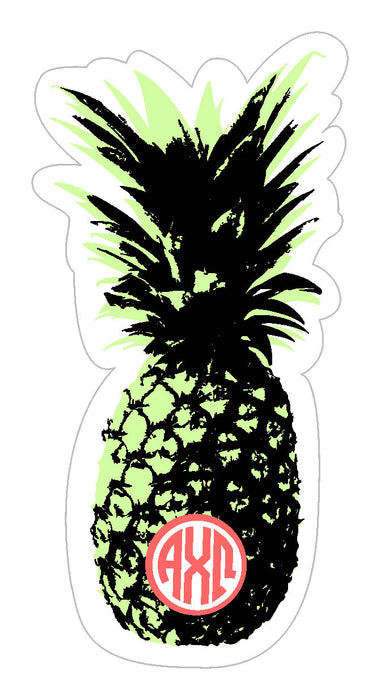 Alpha Chi Omega Pineapple Sticker