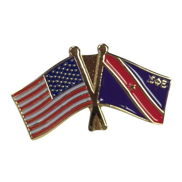 Sigma Phi Epsilon USA / Fraternity Flag Pin