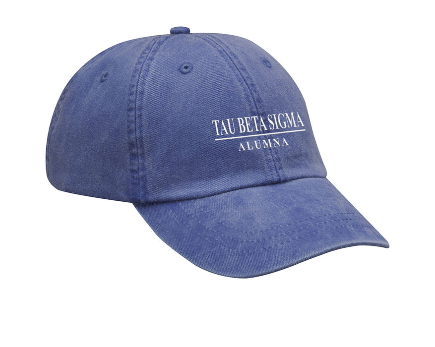 Tau Beta Sigma Custom Embroidered Hat