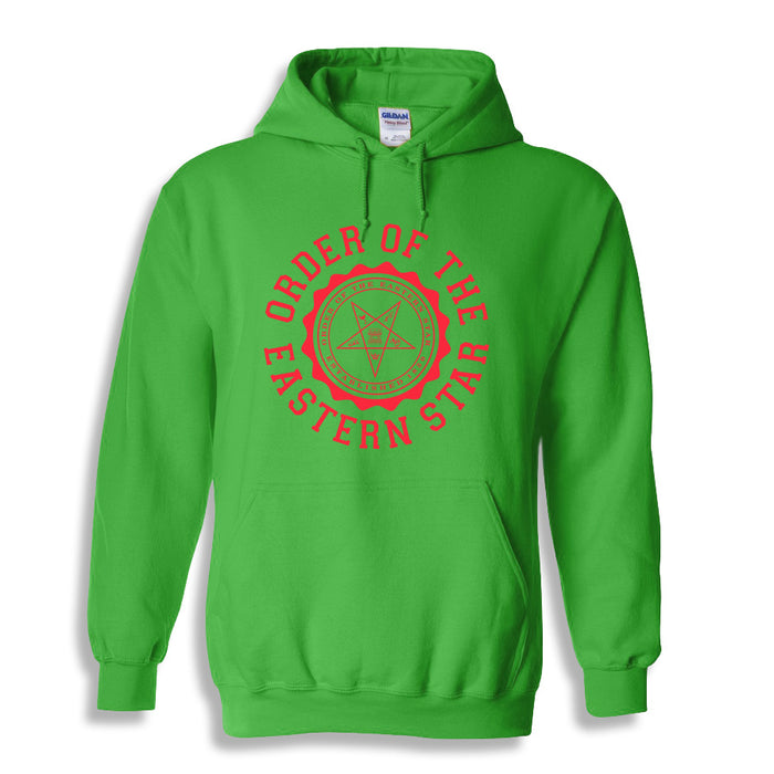 Order Of The Eastern Star World Famous Seal Crest Hoodie