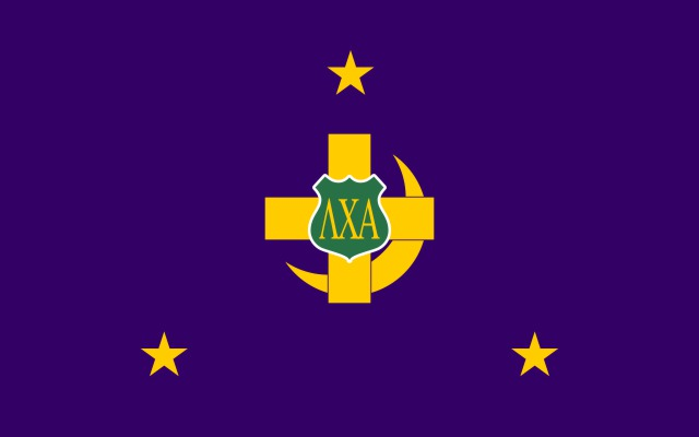 Lambda Chi Alpha Fraternity Flag Sticker