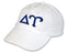 Delta Upsilon Greek Letter Embroidered Hat