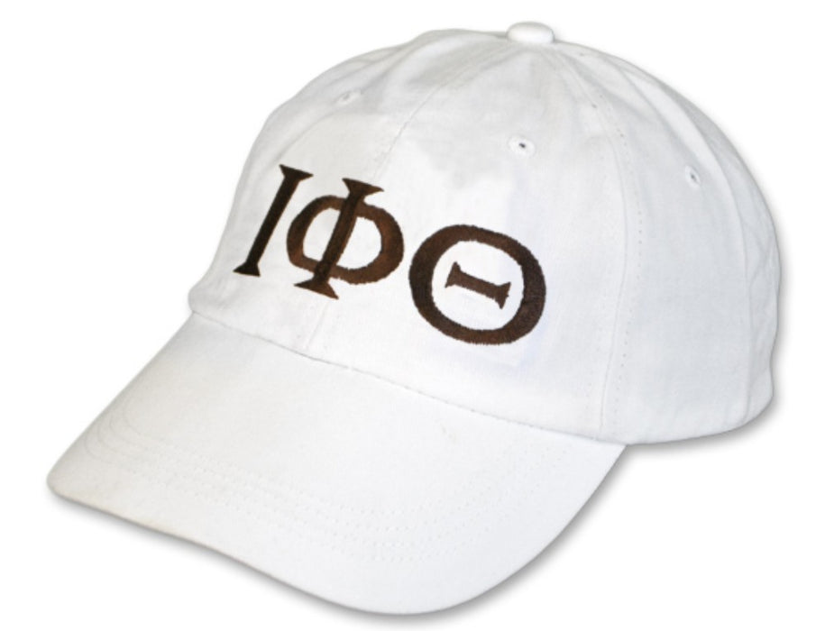 Iota Phi Theta Greek Letter Embroidered Hat