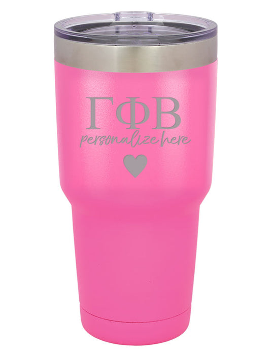 Gamma Phi Beta Vacuum Insulated Tumbler