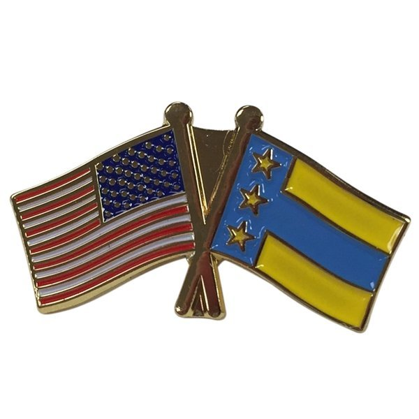 Alpha Tau Omega USA / Fraternity Flag Pin