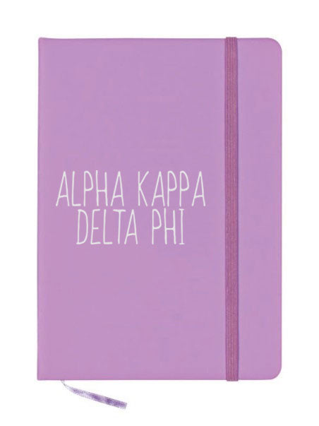 Alpha Kappa Delta Phi Mountain Notebook