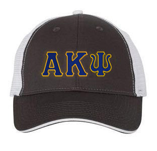 Alpha Kappa Psi Greek Trucker Cap