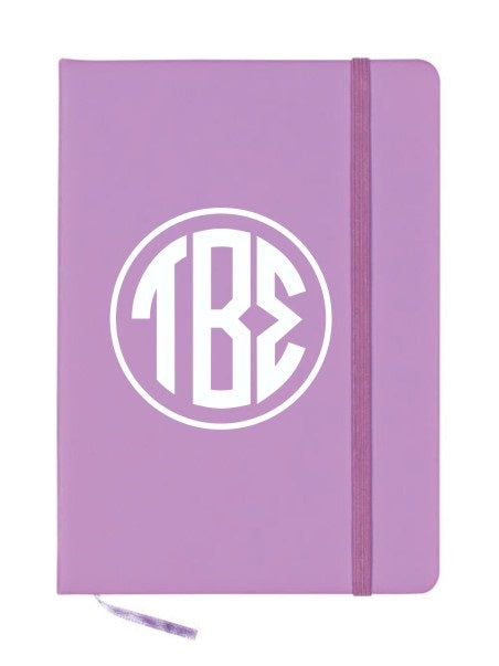 Tau Beta Sigma Monogram Notebook