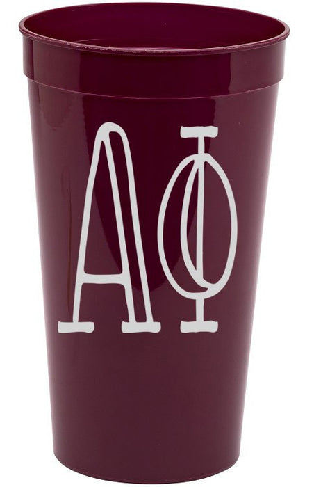 Alpha Phi Inline Giant Plastic Cup