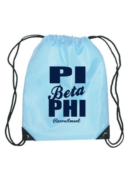 Pi Beta Phi Cursive Impact Sports Bag