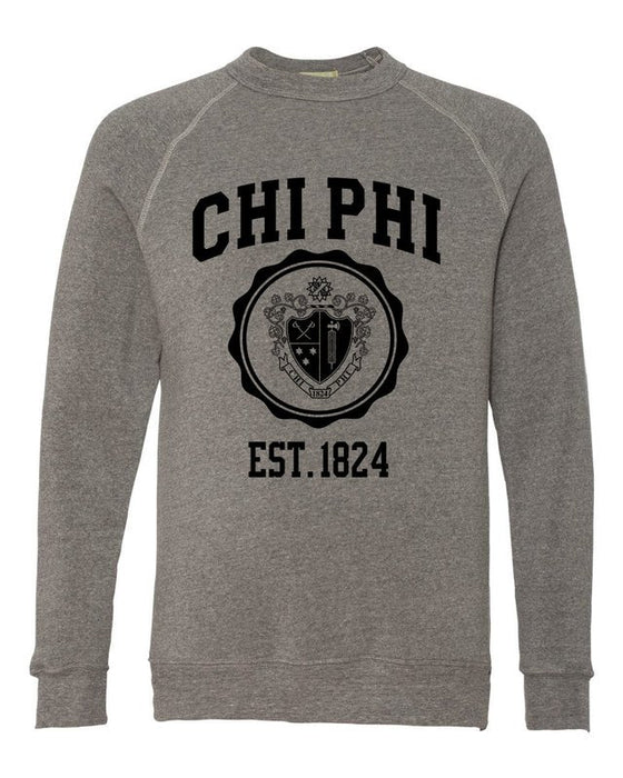 Chi Phi Alternative Eco Fleece Champ Crewneck Sweatshirt