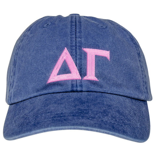 Delta Gamma Greek Letter Embroidered Hat