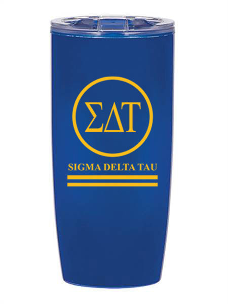 Sigma Delta Tau Circle Stripes 19 oz Everest Tumbler