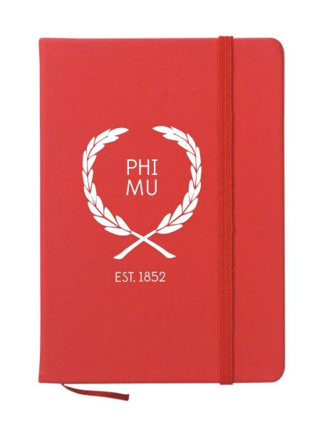 Phi Mu Laurel Notebook