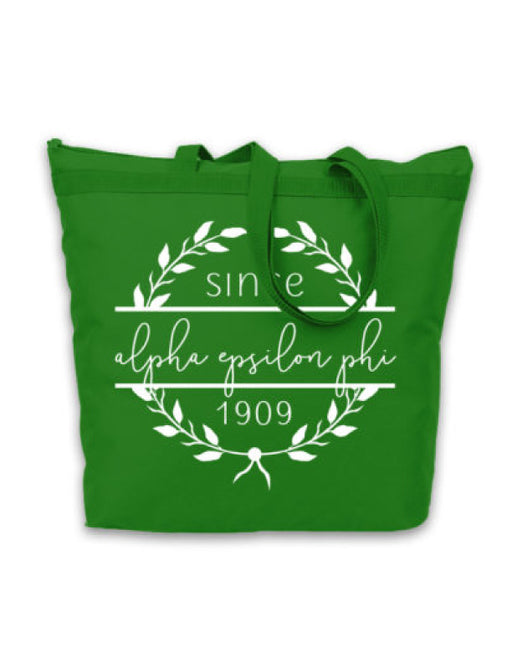 Alpha Epsilon Phi Since Established Tote