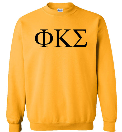 Phi Kappa Sigma World Famous Lettered Crewneck Sweatshirt