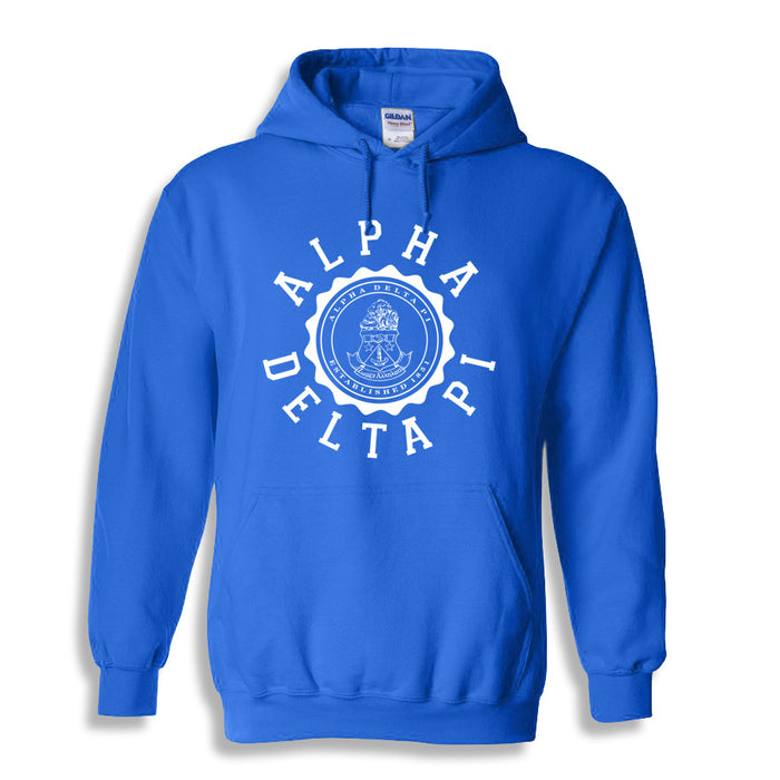Alpha Delta Pi World Famous Seal Crest Hoodie
