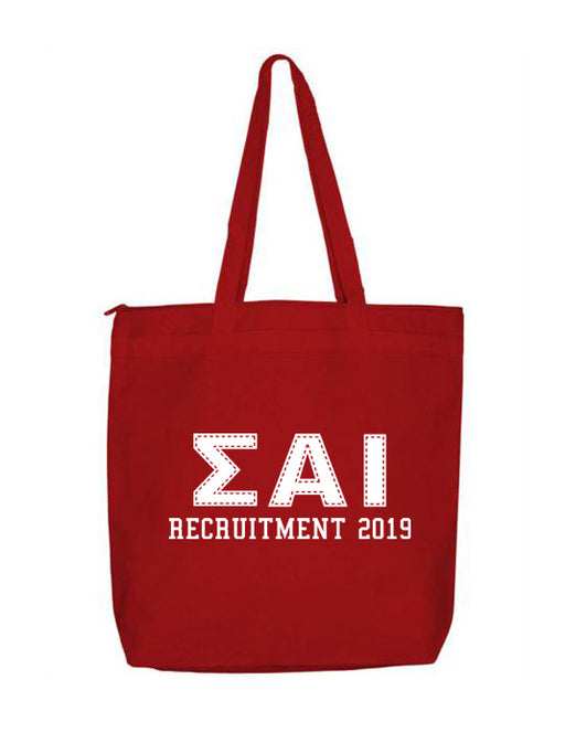 Sigma Alpha Iota Collegiate Letters Event Tote Bag