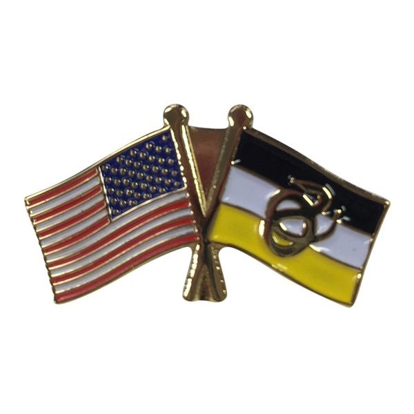 Sigma Nu USA / Fraternity Flag Pin