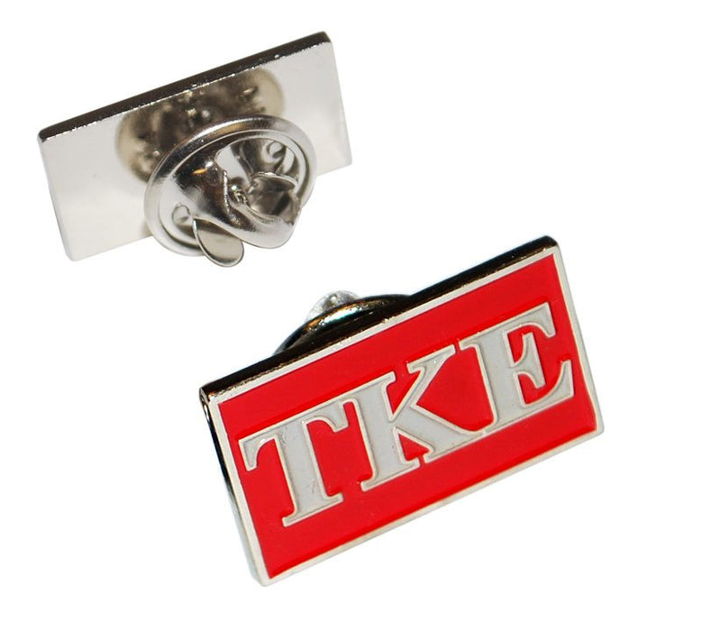 Tau Kappa Epsilon Fraternity Flag Pin