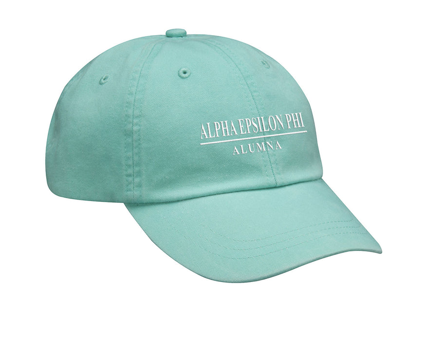 Alpha Epsilon Phi Custom Embroidered Hat