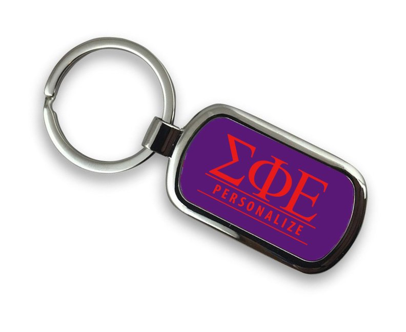 Sigma Phi Epsilon Chrome Key Chain