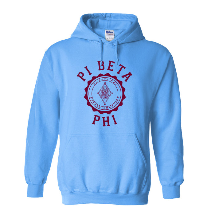 Pi Beta Phi World Famous Seal Crest Hoodie