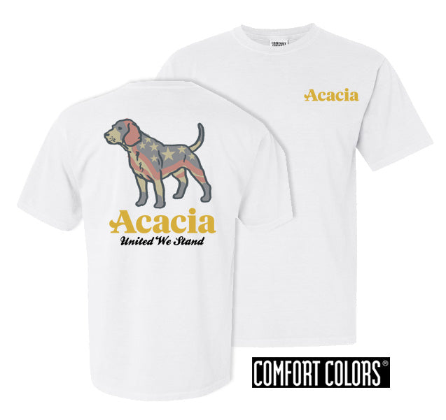 Acacia Stand Tall Comfort Colors Heavy Tee