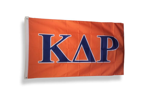 Kappa Delta Rho Big Letter Flag