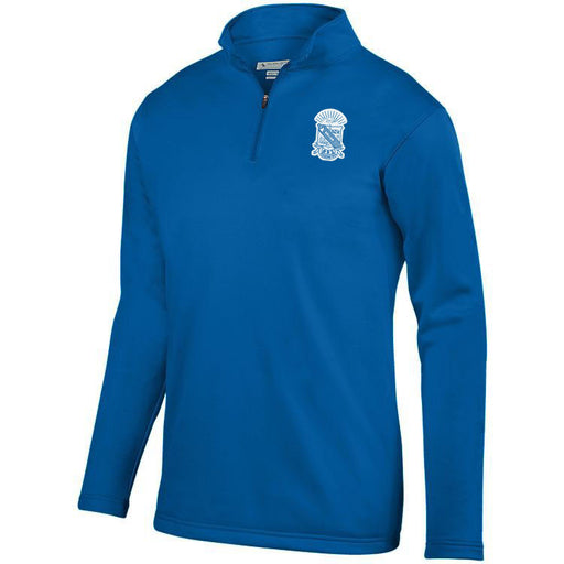 Phi Beta Sigma Crest Moisture Wicking Fleece Pullover
