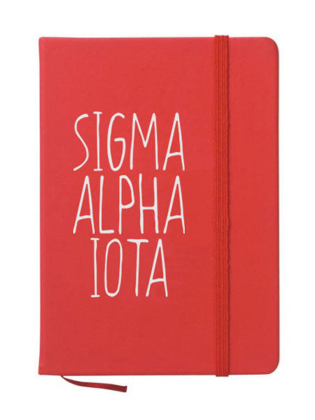Sigma Alpha Iota Mountain Notebook