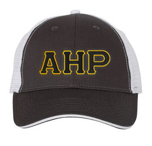Alpha Eta Rho Greek Trucker Cap