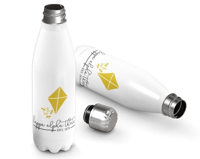 Kappa Alpha Theta Established Stainless Steel Water Bottle