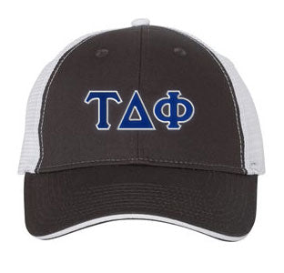 Tau Delta Phi Greek Trucker Cap