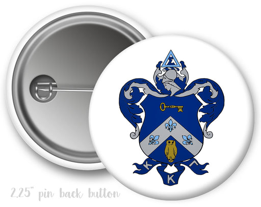 Kappa Kappa Gamma Color Crest Button