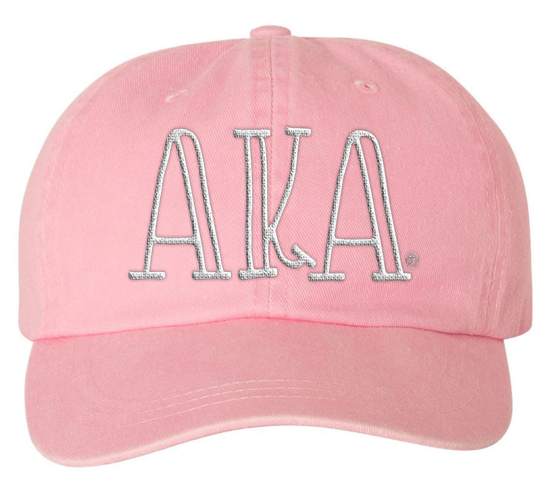 Alpha Kappa Alpha Sorority Greek Carson Embroidered Hat