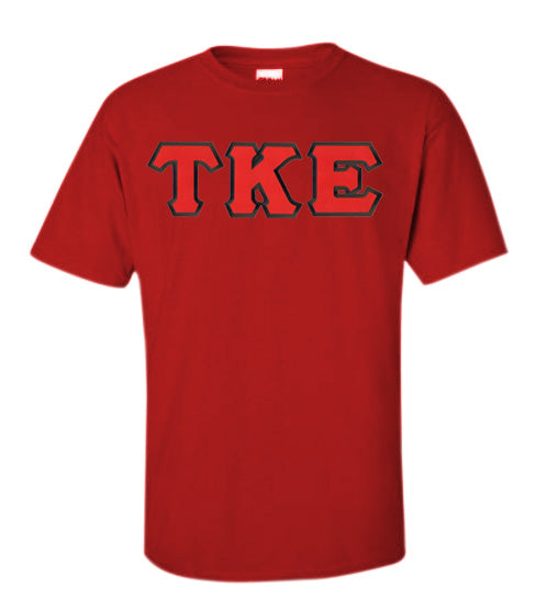 Tau Kappa Epsilon Lettered T Shirt