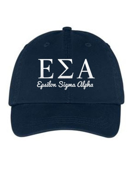 Epsilon Sigma Alpha Collegiate Curves Hat